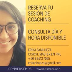 SESIONES COACHING ERIKA SANHUEZA